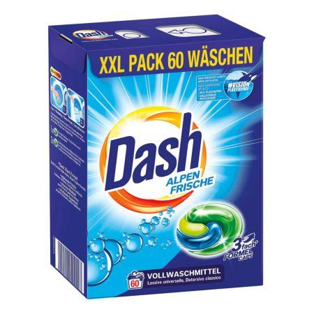 Dash Waschpulver Alpen Frische 60 Wäschen