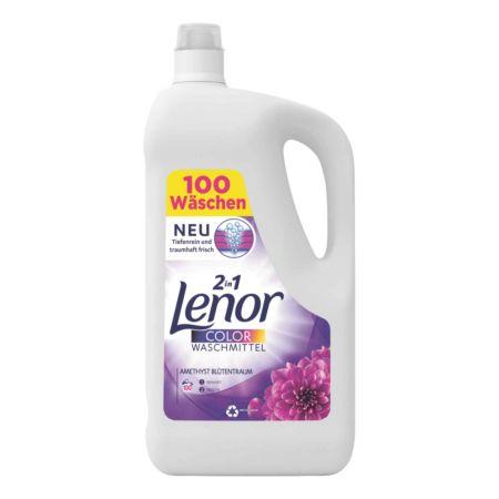 Lenor Flüssigwaschmittel 2in1 Color Amethyst Blütentraum 100 Waschgänge