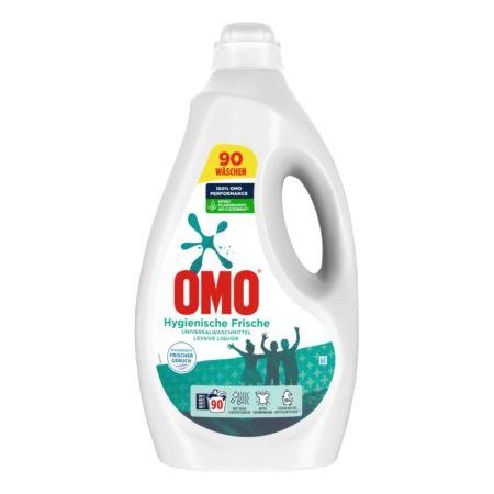 Omo Flüssigwaschmittel Hygienische Frische Universal 90 WG
