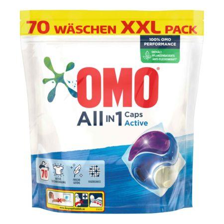 Omo Waschmaschinencaps All in 1 70 Wäschen