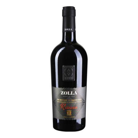Zolla Primitivo di Manduria Riserva 75 cl