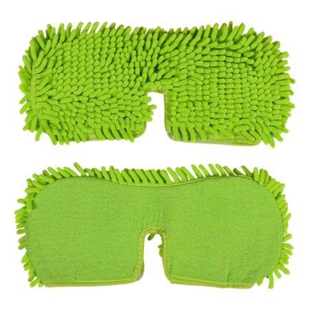 CLEANmaxx Ersatz-Wischtuch 2er-Set grün