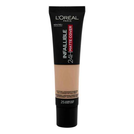 L'Oréal Infaillible Make-up 24H Matte Cover 25 Ivoire Rose