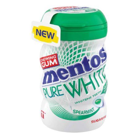 Mentos Gum Pure White Spearmint 90 g