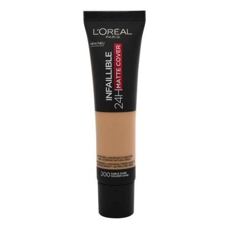 L'Oréal Infaillible Make-up 24H Matte Cover 200 Golden Sand