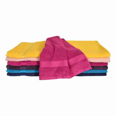 Frottee Handtuch 50 x 100 cm div. Farben