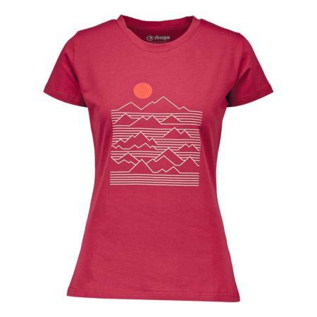 Sherpa Damen-T-Shirt Trijuga Graphic