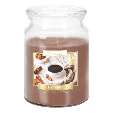 Aura Premium Line Duftkerze Coffee 500 g