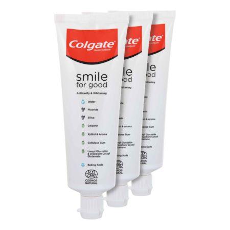 Colgate Zahnpasta Smile for Good Whitening 3 x 75 ml