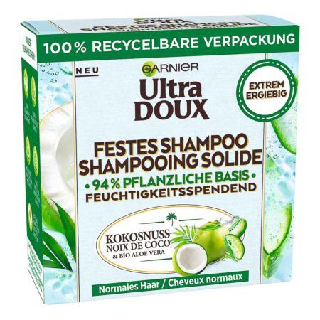 Garnier Ultra Doux Festes Shampoo Kokosnuss & Bio Aloe Vera 60 g