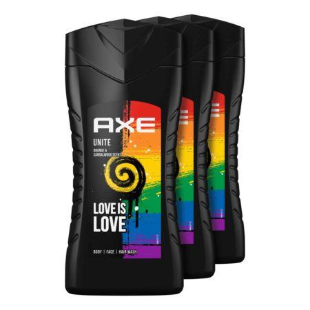 Axe Dusch Love is Love 3 x 250 ml
