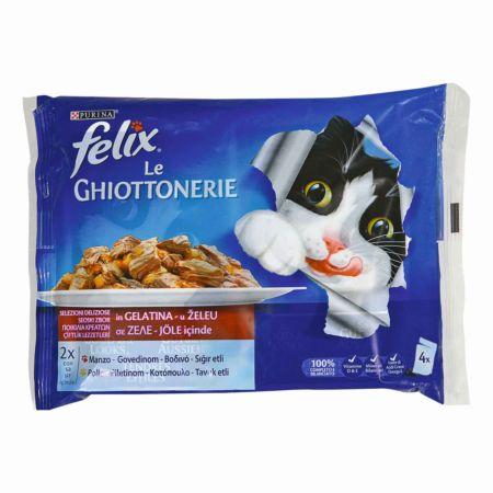 Felix Le Giottonerie Rind & Poulet 4 x 100 g