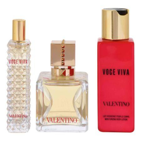 Valentino Voce Viva Eau de Parfum 50 ml + 15 ml + Bodylotion 100 ml
