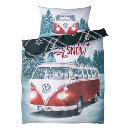 Bettwäsche VW Bus Winter Wonderland