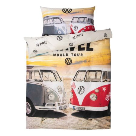 Bettwäsche VW Bus Time to Travel