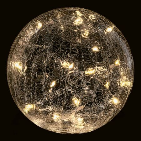 LED Schneeball mit Timer Funktion Ø 15cm