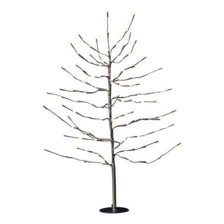 Tannenbaum 90 cm 112 LED Outdoor braun
