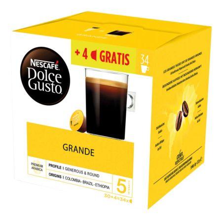 Nescafé Dolce Gusto Crema Grande 30 + 4 Kapseln