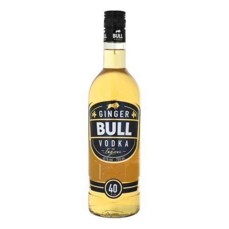 Bull Ginger Vodka 70cl., 40% Vol.