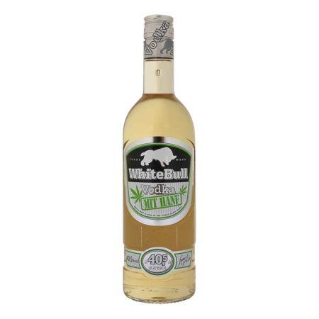 White Bull Vodka mit Hanf 70 cl 40.5% vol.