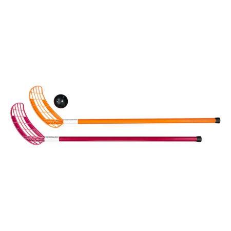 Score Unihockeyschläger 2er Set m.Ball