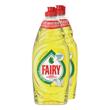 Fairy Spülmittel Zitrone 2 x 625 ml