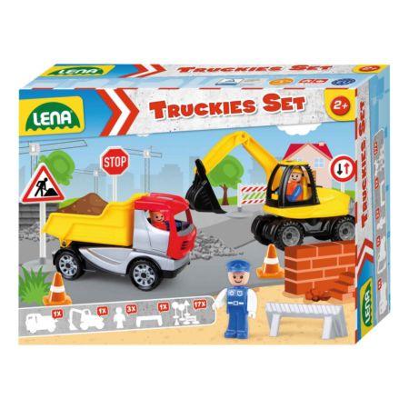 LENA Truckies Set Baustelle