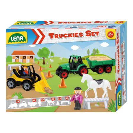 LENA Truckies Set Bauernhof