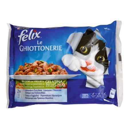 Felix Le Giottonerie Lachs & Forelle 4 x 100 g