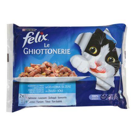 Felix Le Giottonerie Lachs & Thunfisch 4 x 100 g