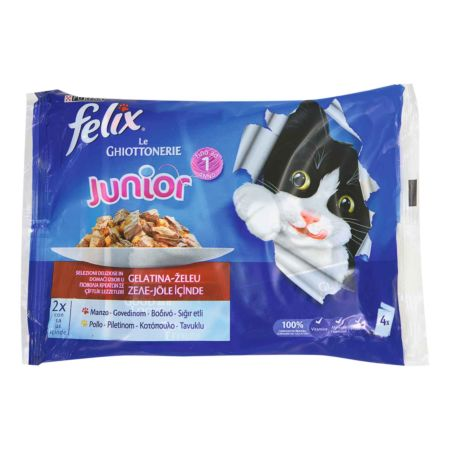 Felix Le Giottonerie Junior Rind & Huhn 4 x 100 g