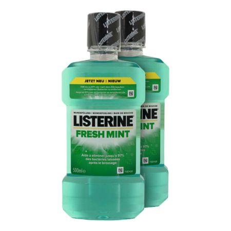 Listerine Mundspülung Freshmint 2 x 500 ml