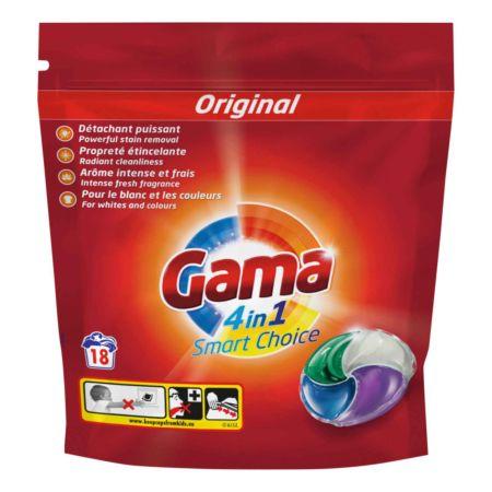 Gama Waschmittel Pods Universal 4in1 Smart Choice 18 Waschgänge