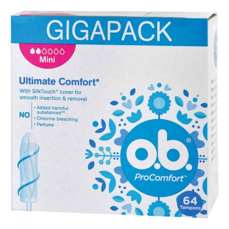 o.b. Tampons ProComfort Mini GIGAPACK 64 Stück