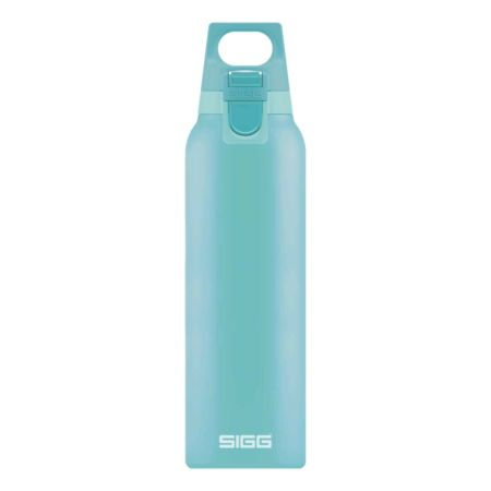 Sigg Thermo Trinkflasche Hot & Cold One 0.5 Liter hellblau