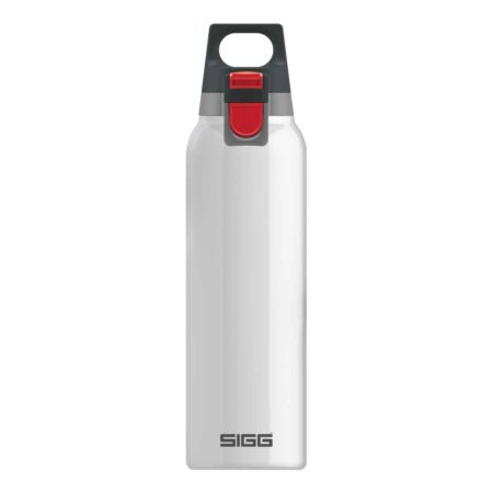 Sigg Thermo Trinkflasche Hot & Cold One 0.5 Liter weiss