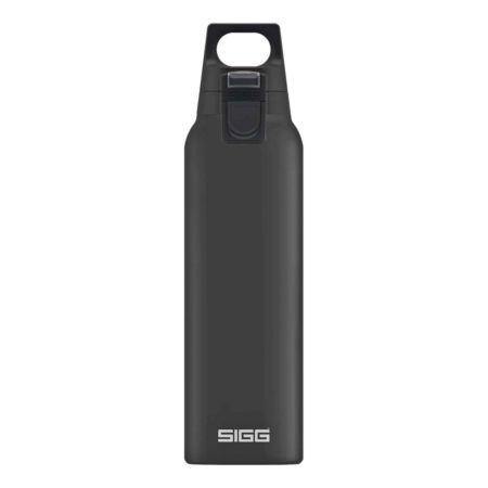 Sigg Thermo Trinkflasche Hot & Cold One 0.5 Liter schwarz