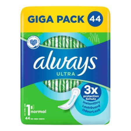 Always Ultra Damenbinden Normal Grösse 1 GIGA PACK 44 Stück