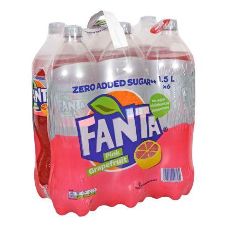 Fanta Pink Grapefruit 6 x 1.5 Liter