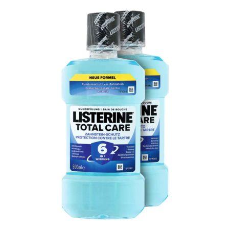 Listerine Mundspülung Total Care Zahnstein-Schutz 2 x 500 ml