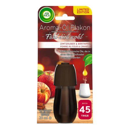Air Wick Nachfüller Aroma-Öl Flakon Zimtzauber & Bratapfel 20 ml