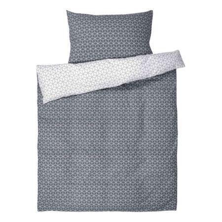 Bettwäsche mit Rautenmuster
