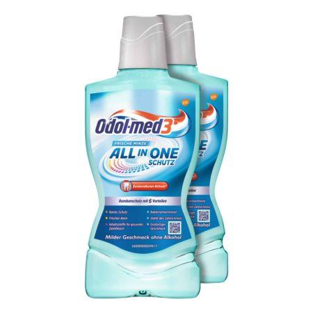 Odol-med3 Mundspülung All In Protection 2 x 500 ml