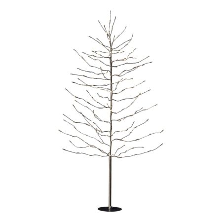 Tannenbaum 150 cm 200 LED Outdoor braun