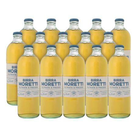 Birra Moretti filtrata a freddo 15 x 55 cl