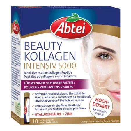 Abtei Beauty Kollagen Intensiv 5000 10 Ampullen