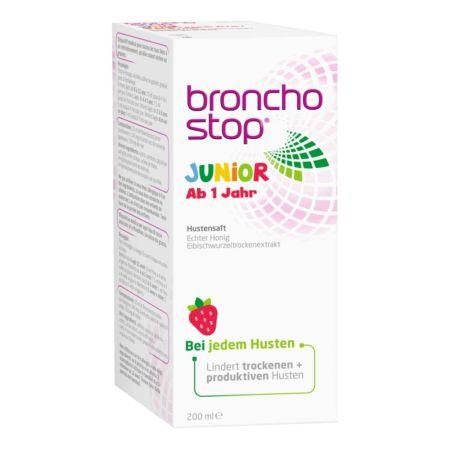 Bronchostop Junior Hustensirup 200 ml