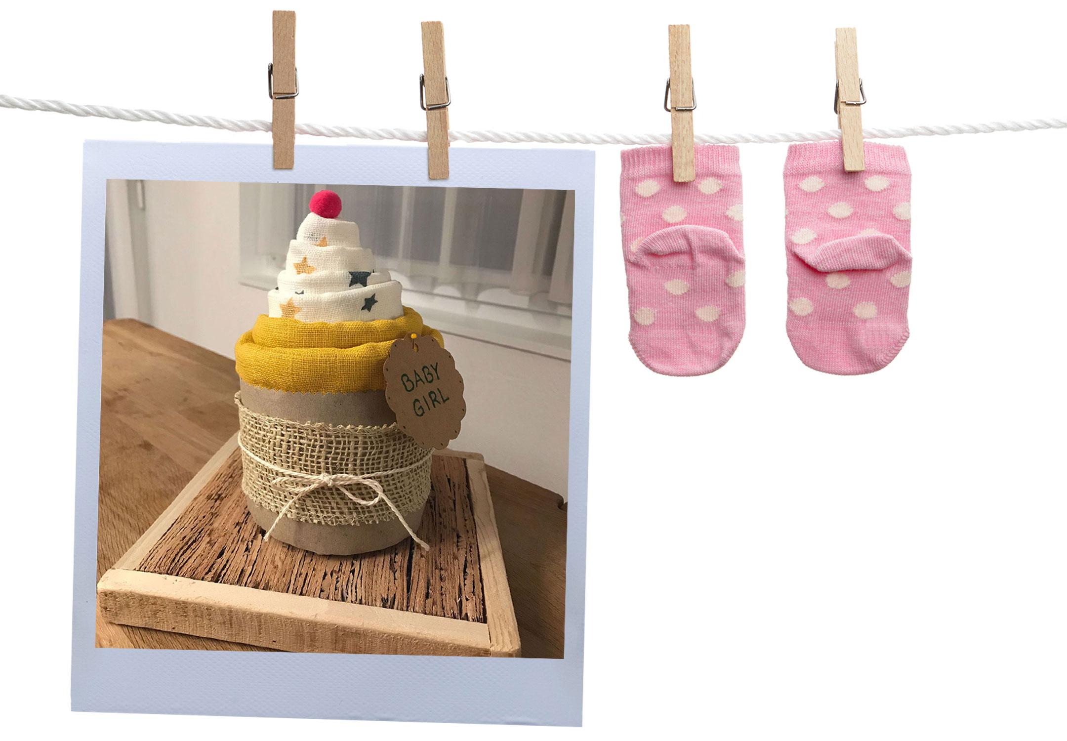 Geschenkidee - DIY Noschi Cupcake