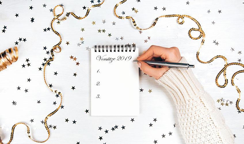 Neujahrsvorsätze – Ideen und wie man diese dann auch durchzieht