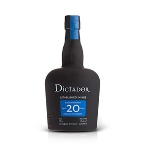 Rum Dictador 20 years old